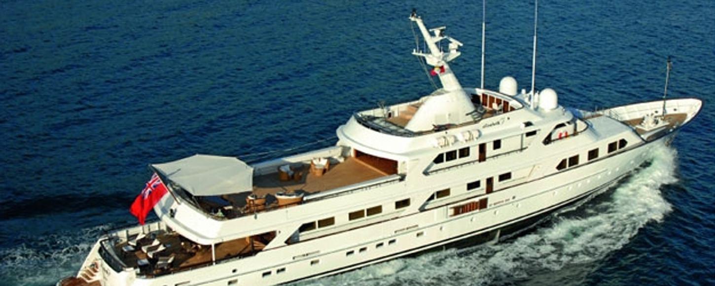 Mirage classic superyacht charter