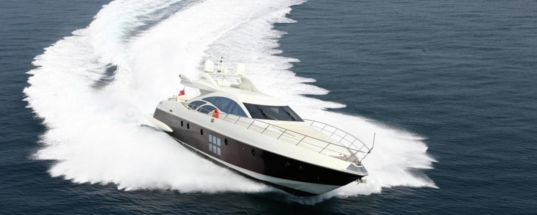 Charter yacht Mosafa cruising in the West Mediterranean