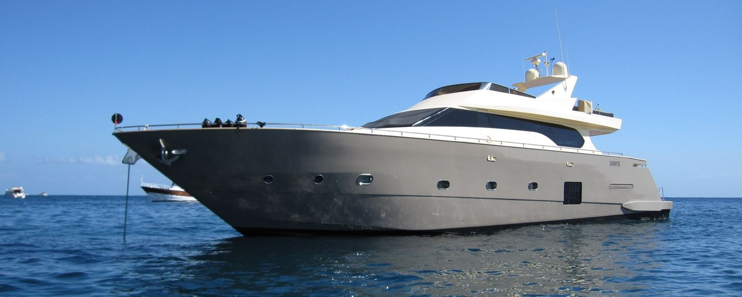 Charter Yacht ANDEA at anhor in Sicily