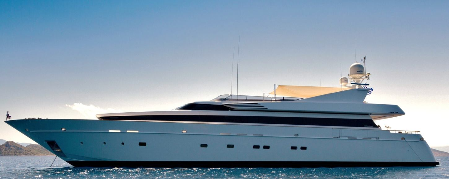 Superyacht MABROUK at anchor
