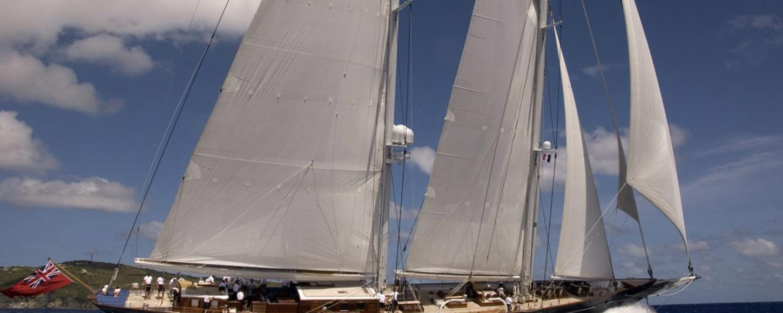METEOR sailing in the Caribbean