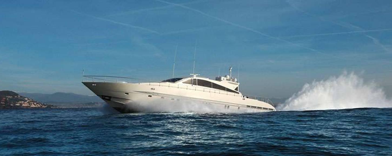 Charter yacht Seremity Atlantic cruising in the West Mediterranean