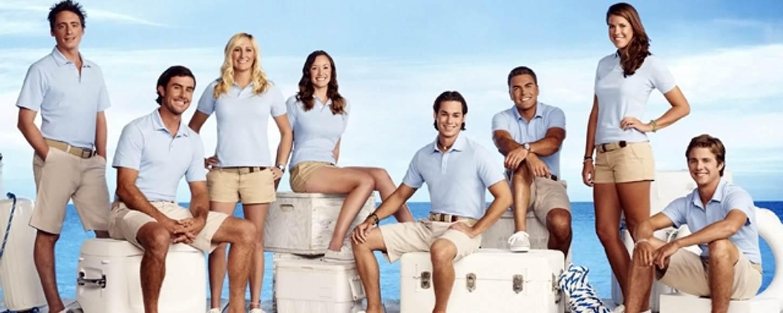 'Below Deck' Bravo TV show - Yachties Cast crew on Honor Yacht