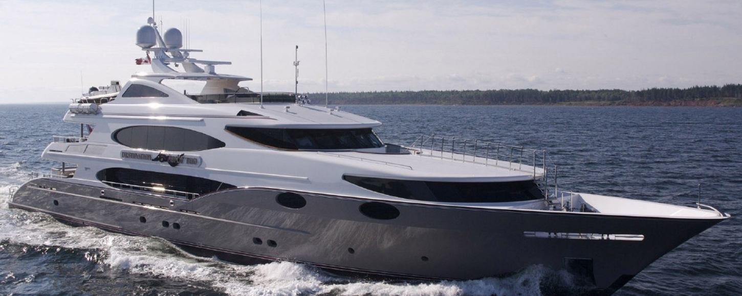 Superyacht 'Mustang Sally' will appear in the third season of of 'Below Deck'
