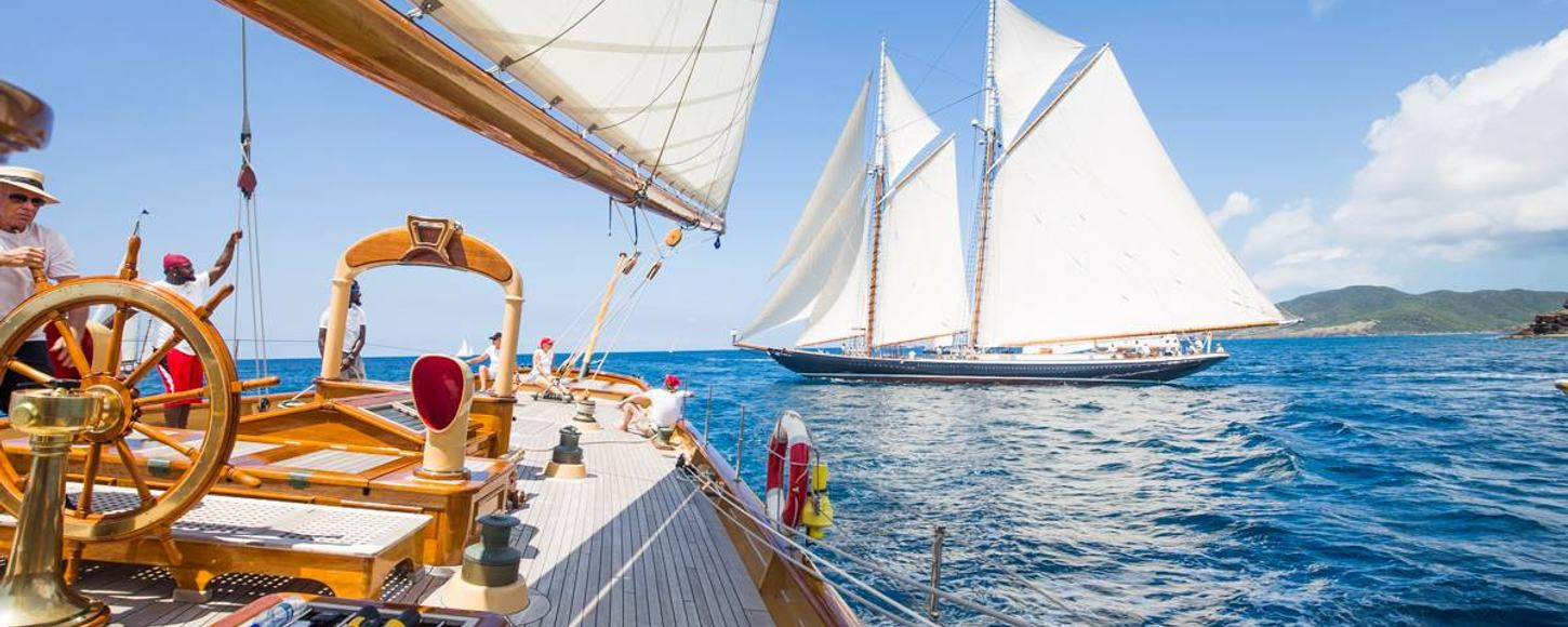 Chase the race: why you have to charter at The Antigua Classic Yacht Regatta
