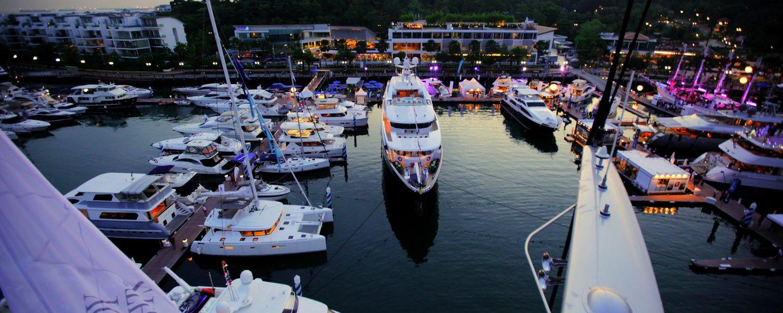 Singapore Yacht Show 2016