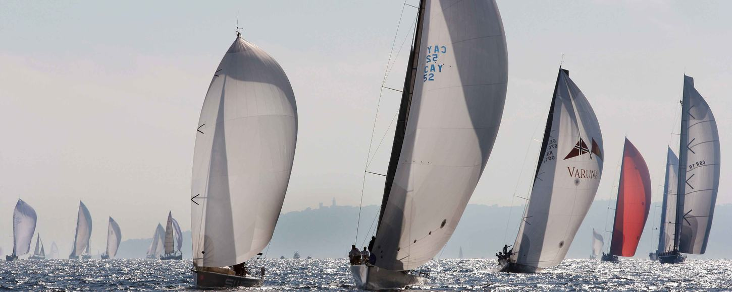 attend Voiles de St Tropez 2015 on a luxury yacht charter vacation