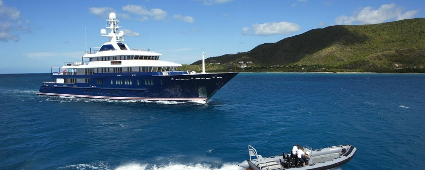Motor Yacht Northern Star sailing on Caribbean Charter
