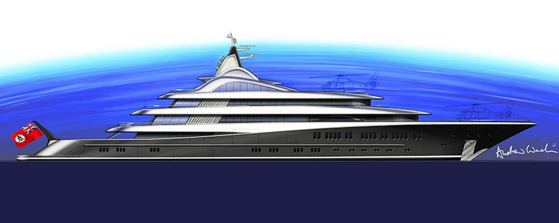 superyacht TIS rendering