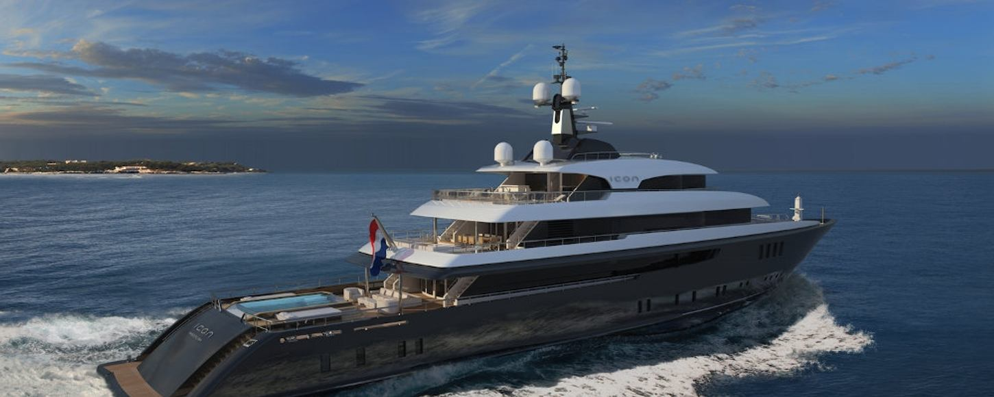 Superyacht ICON was one of the most talked-about refits of 2014