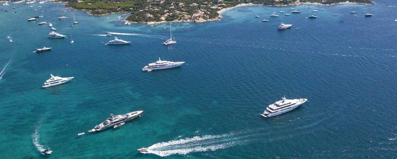yachts in sardinia