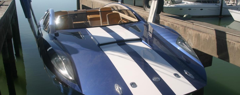 Charter Yacht BLADE's Amphibious Tender