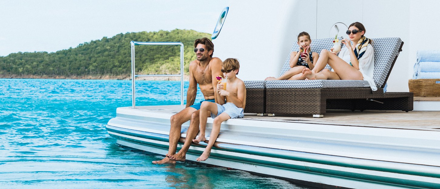 Why a yacht charter is the best kind of family vacation