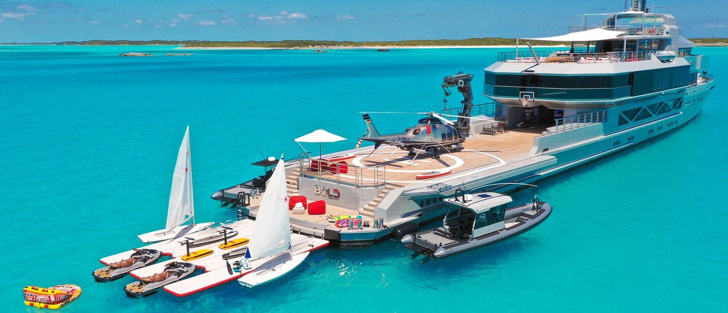 Go Bold or go home: Superyacht BOLD to undertake two-year world charter tour