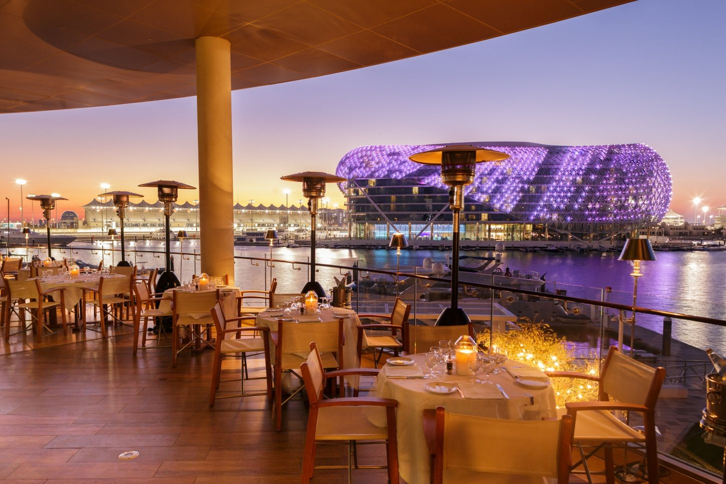 Where to eat in Yas Marina during Race Week review