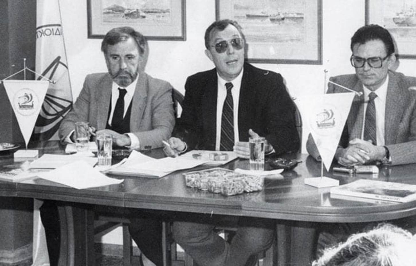 """Vassilios """"Bill"""" Lefakinis as the chair of the Hellenic yacht owners association"""