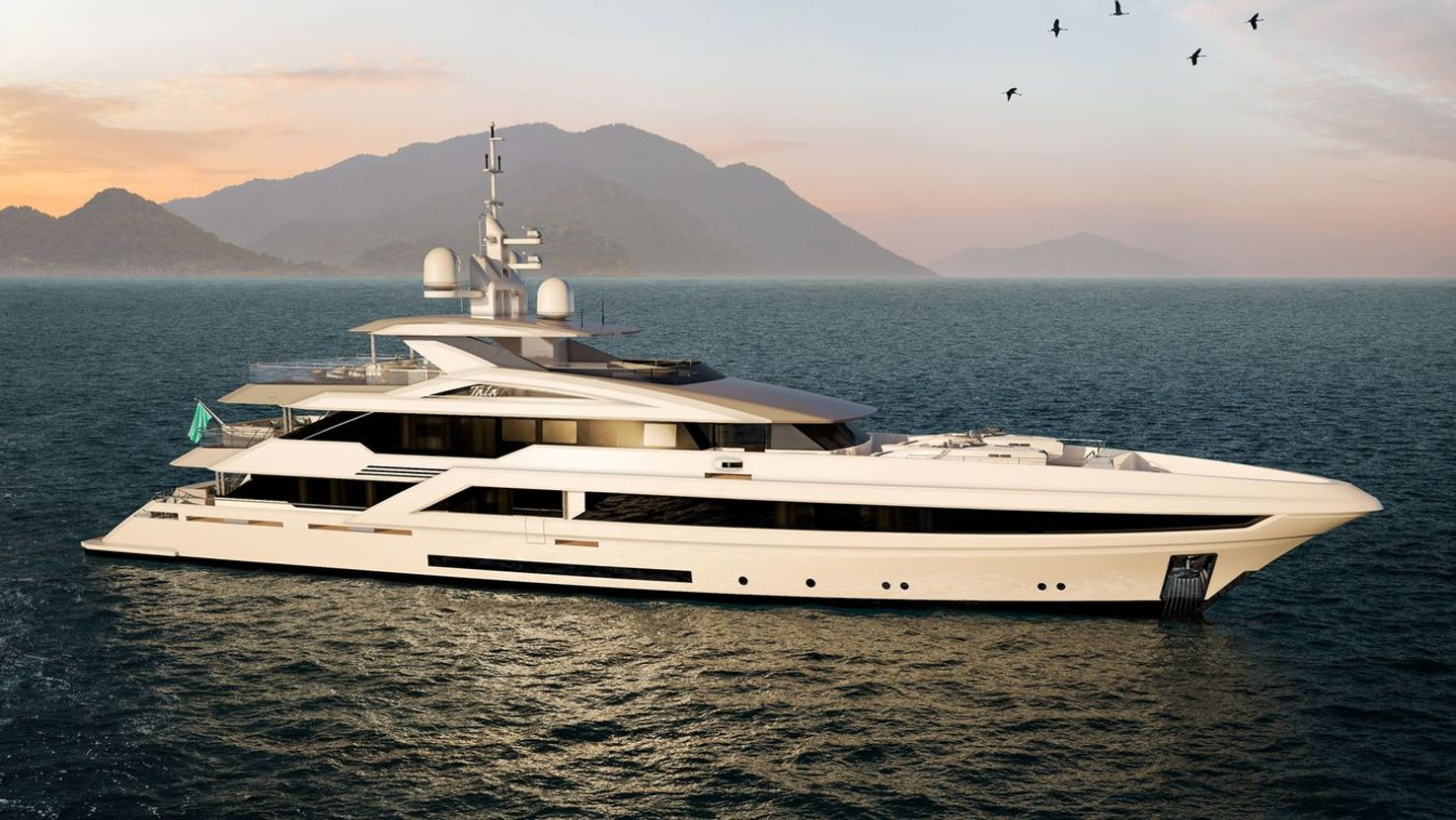 Superyacht Project Tala on water