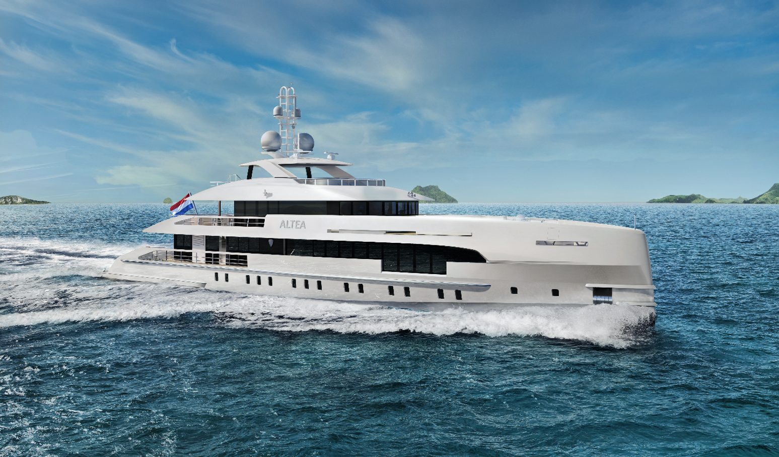 Motor yacht project Altea launched by Heesen