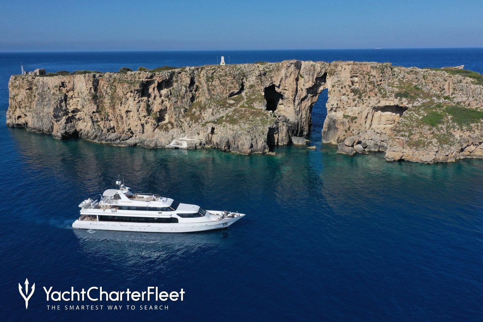 Carmen Fontana Charter Yacht