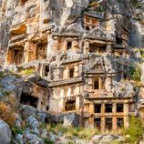 <p>You will not be disappointed by adding the ancient Greek town of Myra in the Antalya Province, to your charter itinerary. A prominent city of the Lycian Union in early Byzantine times, Myra is home to the largest amphitheatre in Lycia, featuring a plethora of rock-cut tombs carved above the theatre, delicately preserved in history.&nbsp;</p>  <p>A must-see landmark, the amphitheatre and its 28 rows of seating are excellently maintained. With a richly decorated facade of theatrical masks and scenes from mythology, preserved corridors still inscribed with words like &quot;place of the vendor Gelasius&quot; it is easy to get lost in the captivating&nbsp;history of Myra.</p>