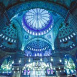 <p>An architectural masterpiece, Istanbul&#39;s Blue Mosque took 7 years to build from 1609 and still stands wonderfully maintained just as it did in the Ottomon Empire, now.&nbsp;</p>  <p>Step inside the mosque and be in awe of its domes, which billow upwards into space creating the buildings own heavens. Outside its grand courtyard has a breathtaking exterior design, hours will pass just admiring the detailed beauty.&nbsp;</p>  <p>Be sure to enter from the west (Hippodrome) side if you wish to watch the drama of the domes unfold in front of you.</p>