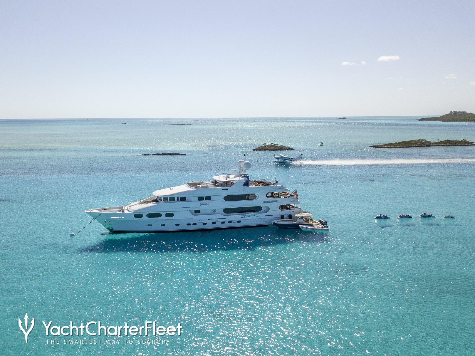 Milestone Charter Yacht