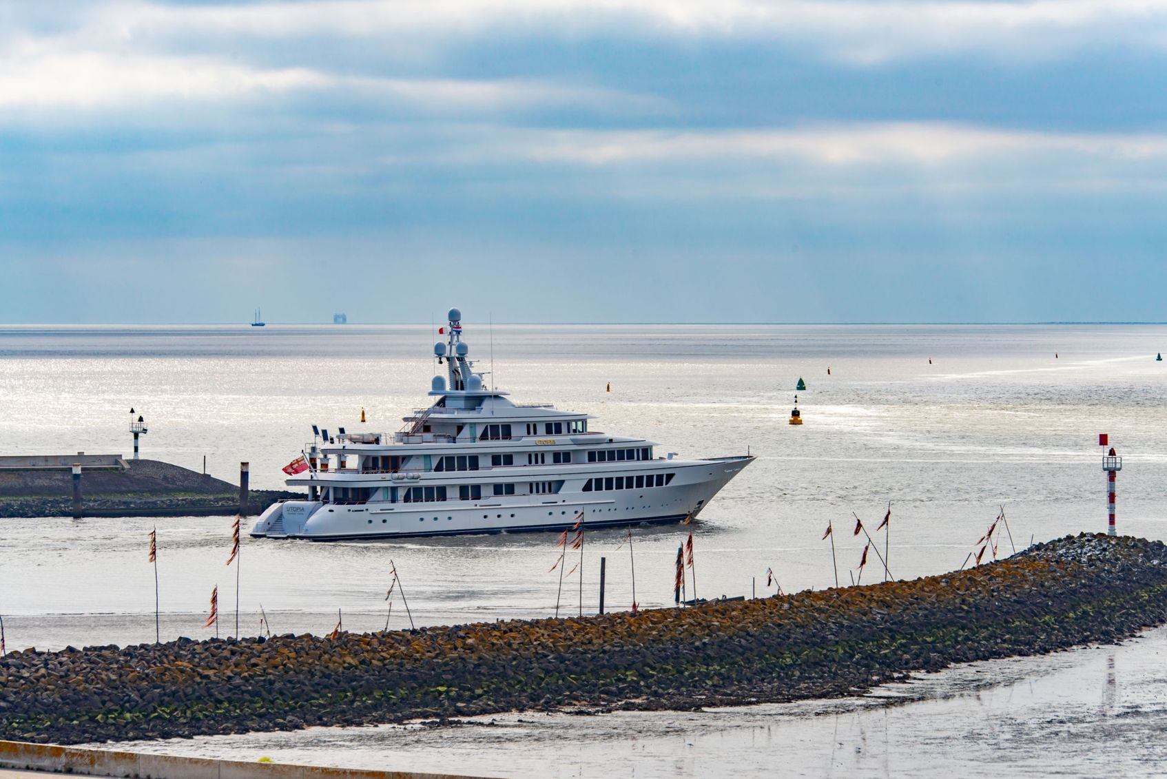 luxury yacht UTOPIA leaves Feadship yard after refit to start charter season in the Mediterranean