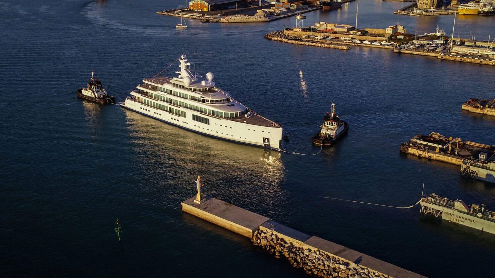 Benetti gigayacht Project FB272 or superyacht SAMAR