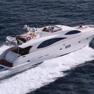 Majesty 88 Charter Yacht