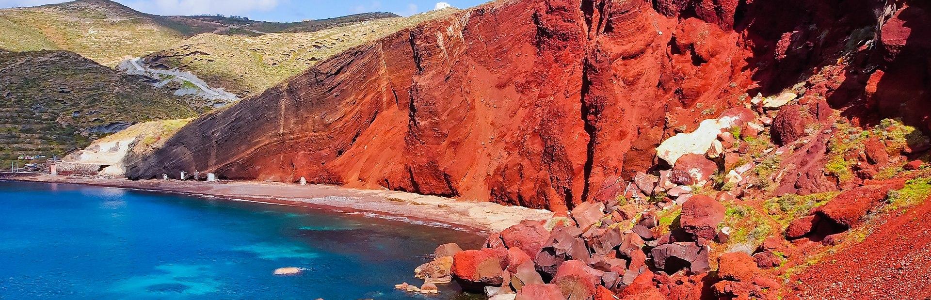 Kokkini Beach (Red Sand Beach) Image 1