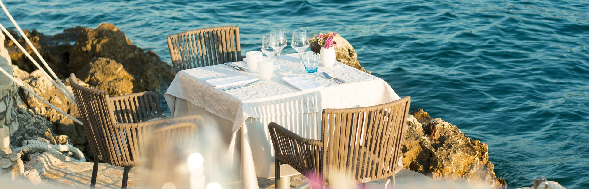 The most sensational restaurants in the Mediterranean which you can visit by yacht