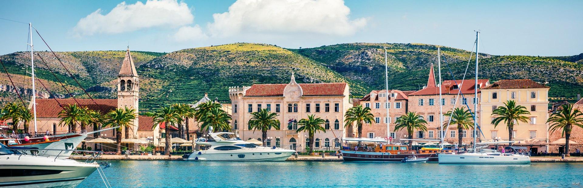 Croatia charter itineraries