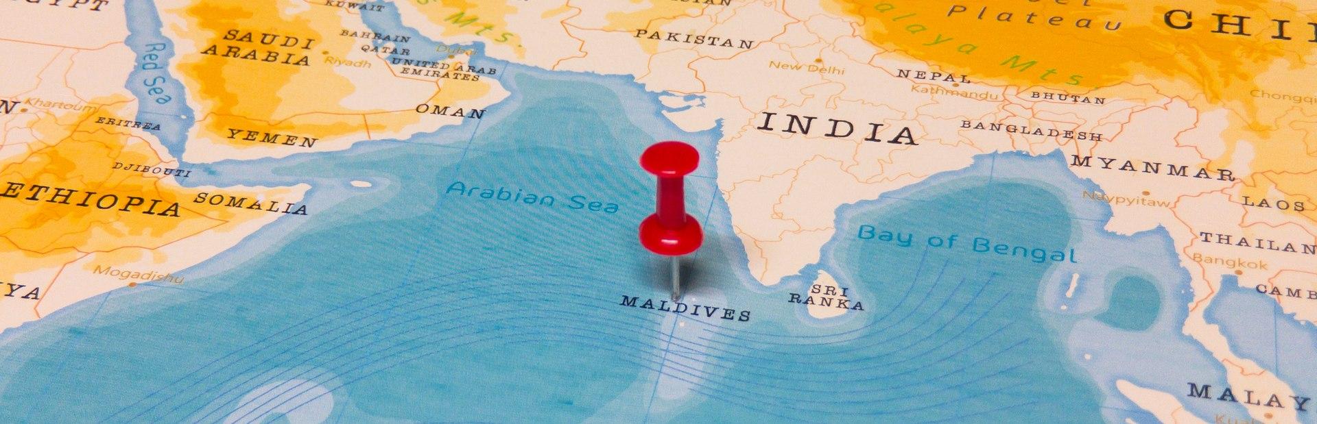 Maldives interactive map