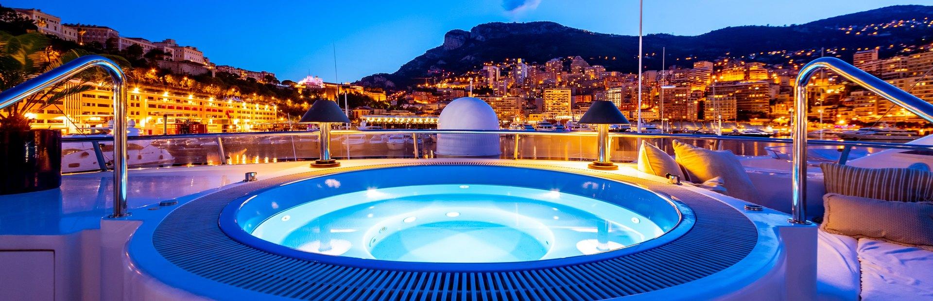 Monaco charter itineraries