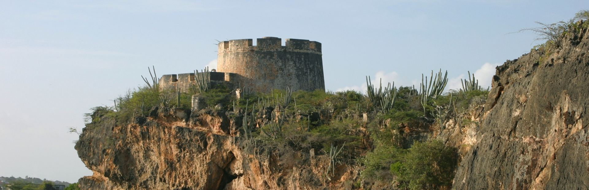 Fortress castle in Curacao