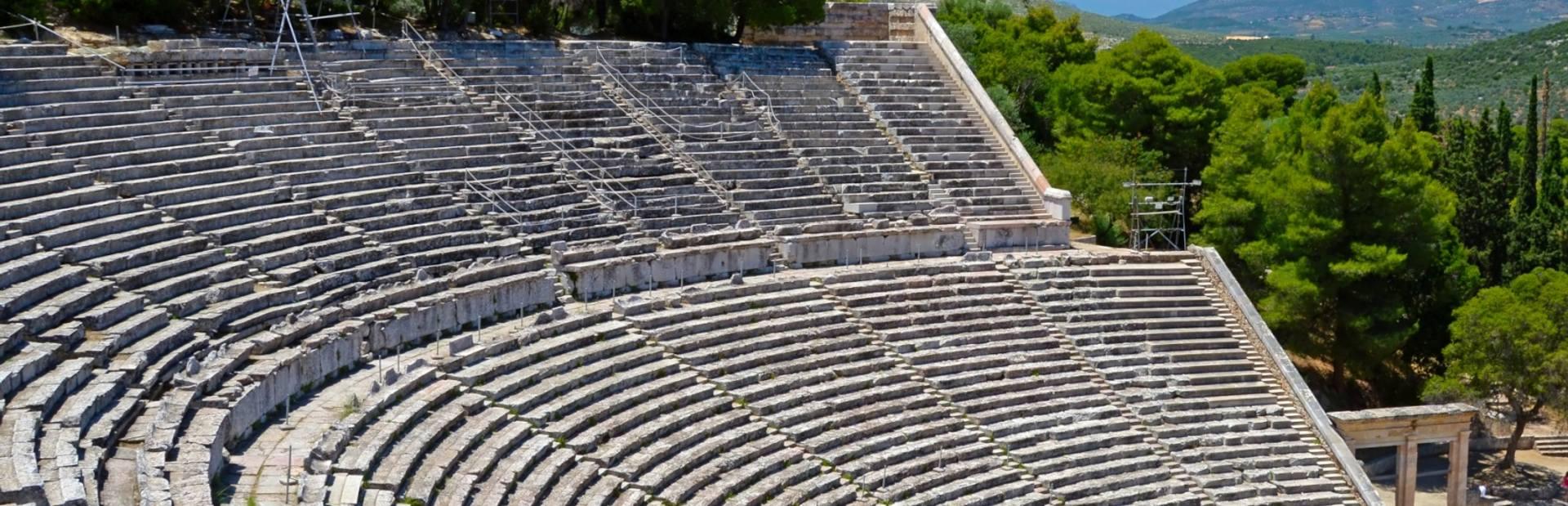 Epidavros charter itineraries