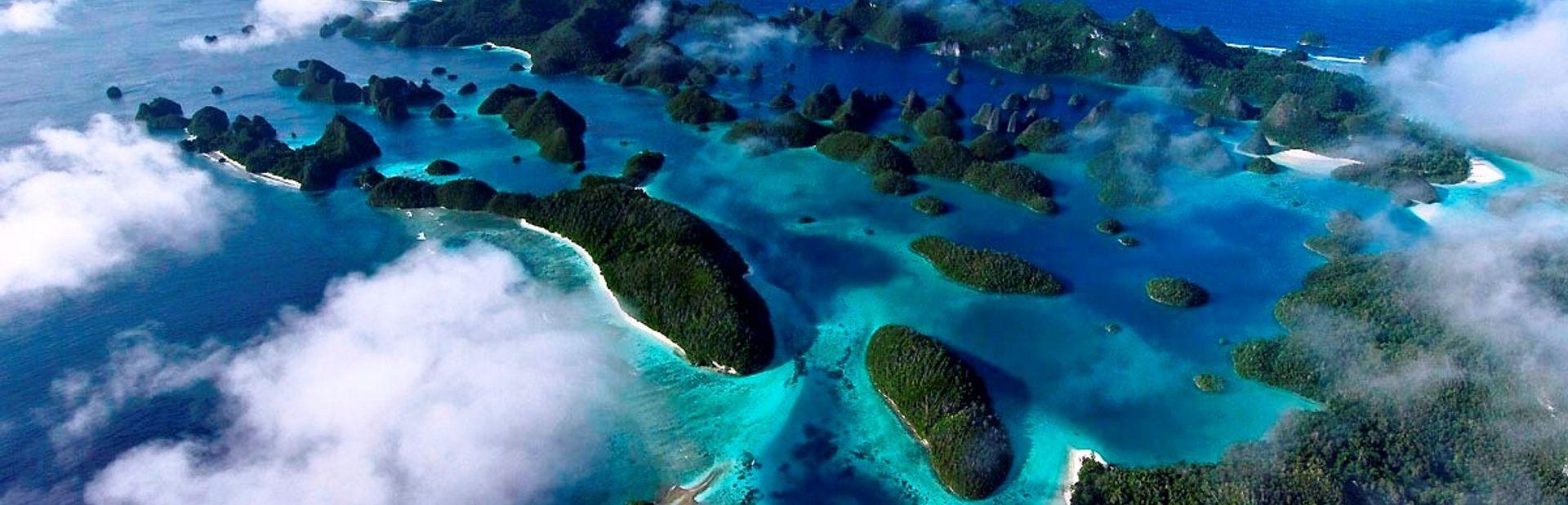 Raja Ampat charter itineraries