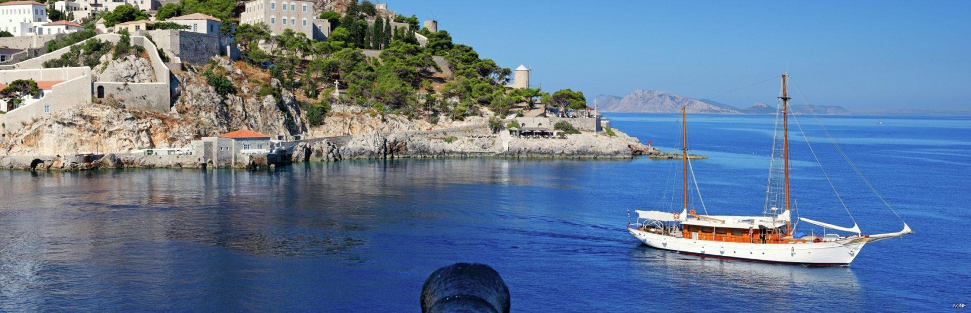 Saronic Islands charter itineraries