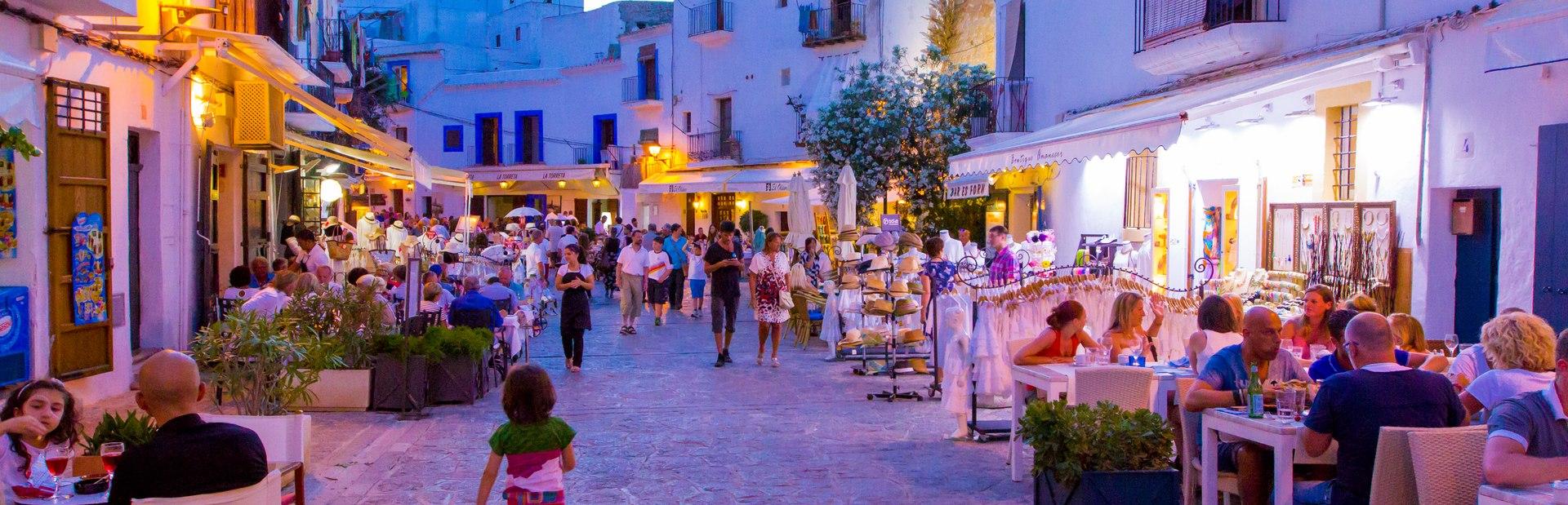 Ibiza charter itineraries