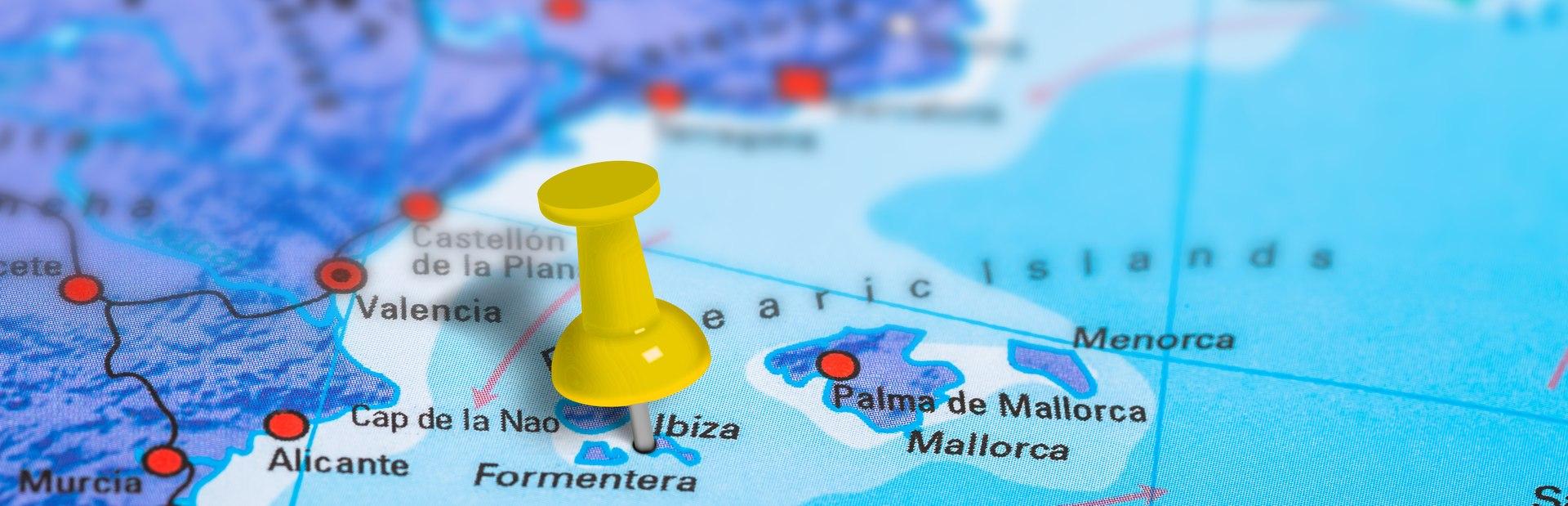 Ibiza interactive map