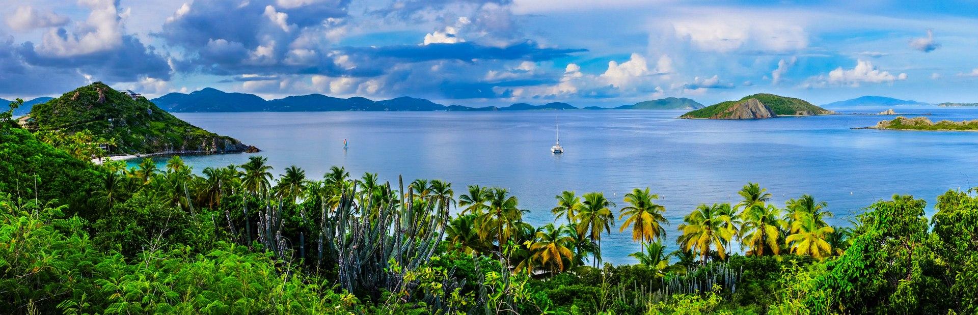 British Virgin Islands charter itineraries