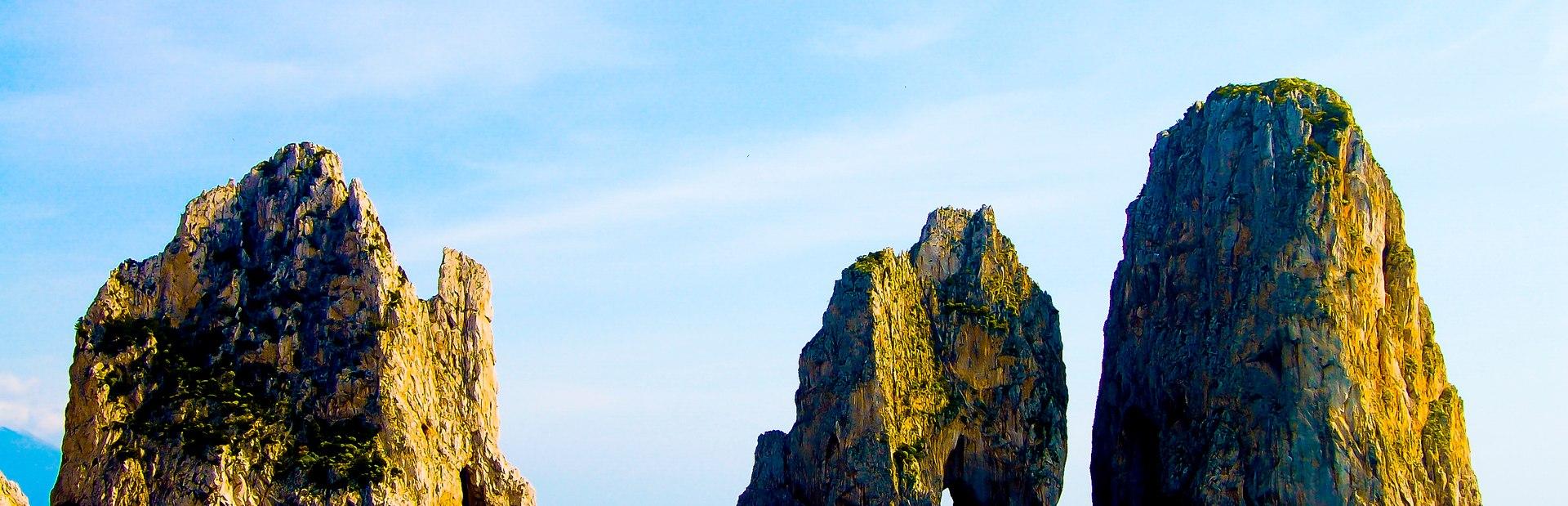 Discover Faraglioni Rocks