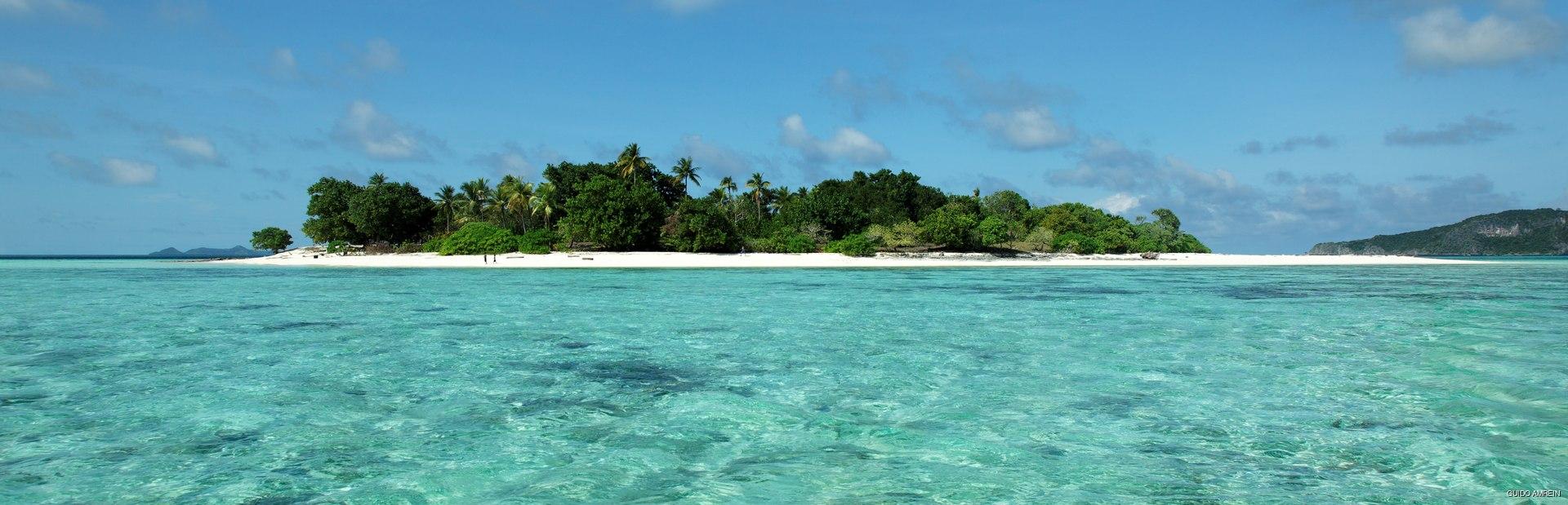 View n the green island