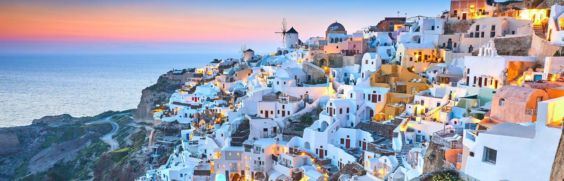 Santorini charter itineraries