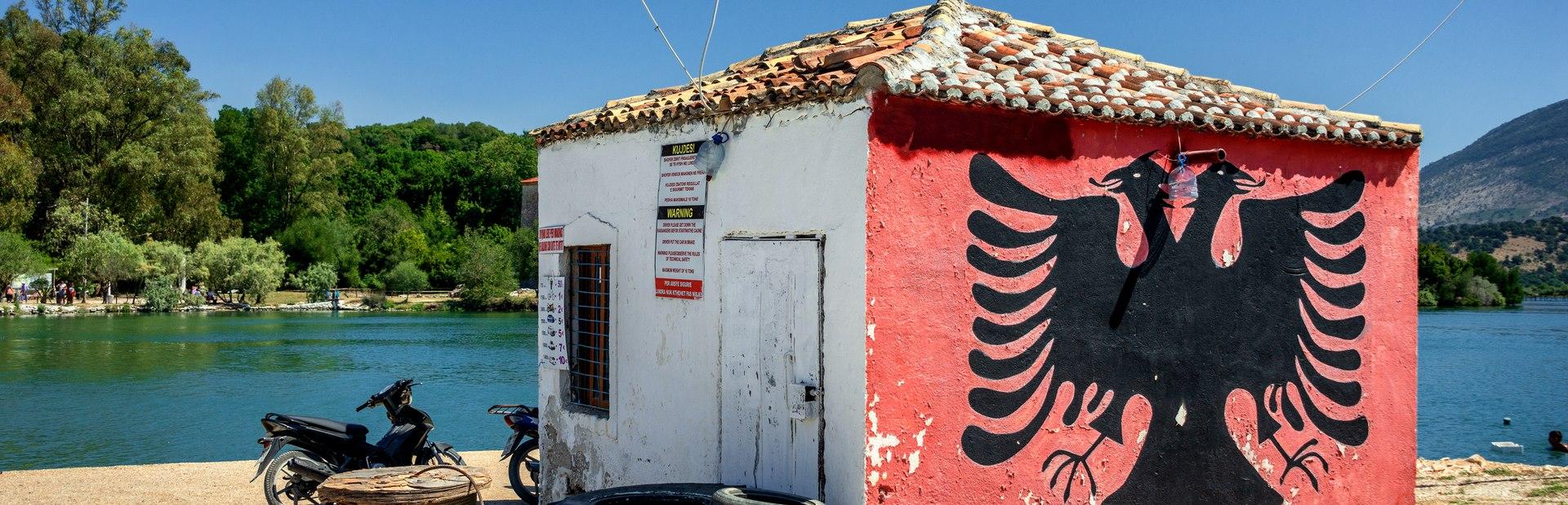 Albania interactive map