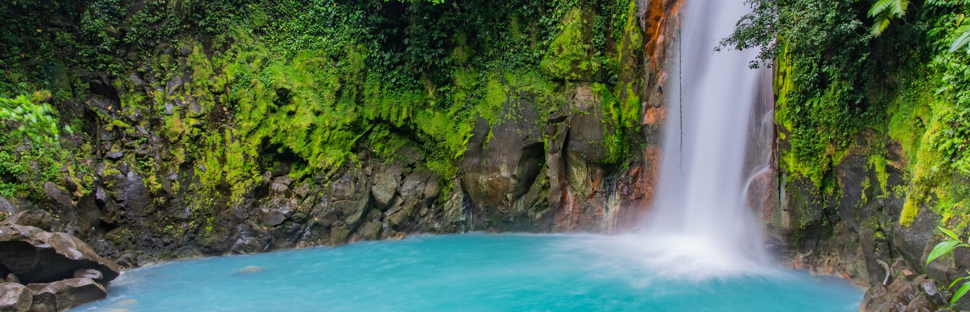 Costa Rica interactive map