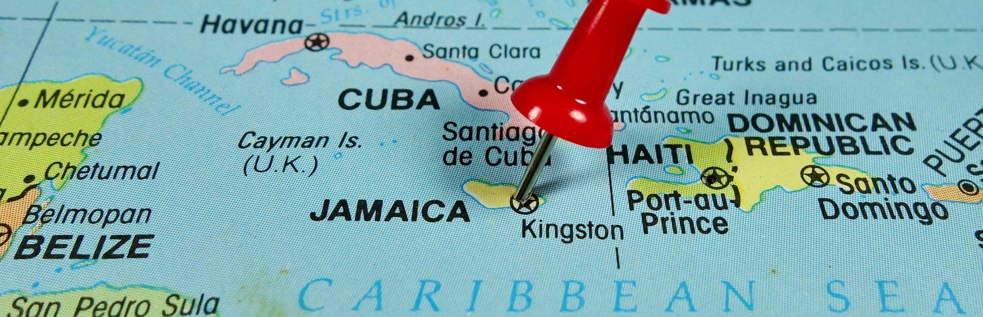 Caribbean interactive map