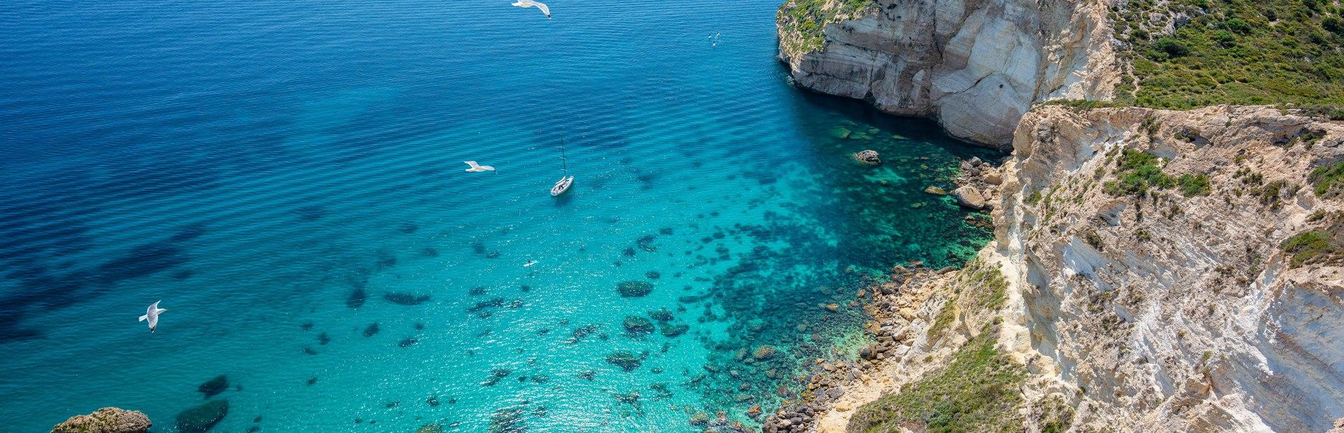 Cagliari charter itineraries