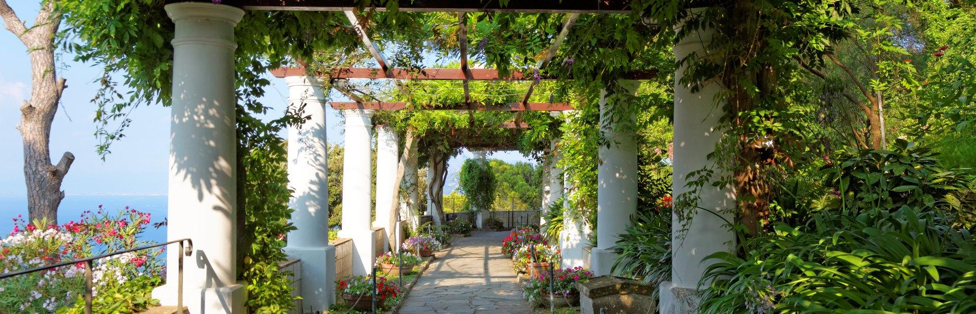 Find serenity in the public gardens of Capri