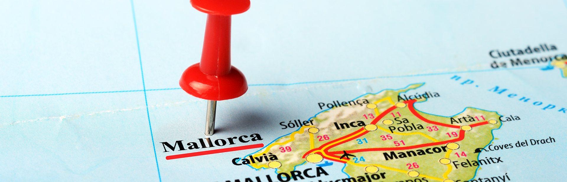 The Balearics interactive map